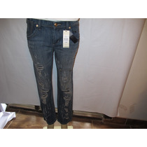 Jeans Calca Bcbg Destroyed Boyfried Original Pronta Entrega