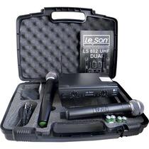 Promoção! Le Son Ls802-ht/ht Mão Mão Microfone Sem Fio