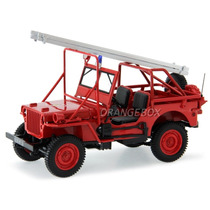 Jeep Willys Fire Department Bombeiros 1988 Norev 1:18 189012