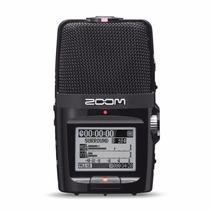 Gravador De Voz Digital Zoom H2n Ultra Portátil