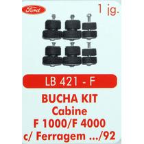 Bucha Kit Coxim Cabine F1000 F4000 Com Ferragem 92 Para Tras