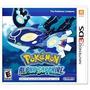 Jogo Nintendo 3ds Pokemon Alpha Sapphire Novo Lacrado