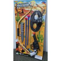 Brinquedo Kit Arma Arco Flecha Pistola Frete Gratis