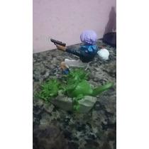 Boneco Gashapon Dragon Ball Gt- Trunks E Criaturas