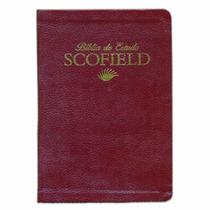 Bíblia De Estudo Scofield - Vinho
