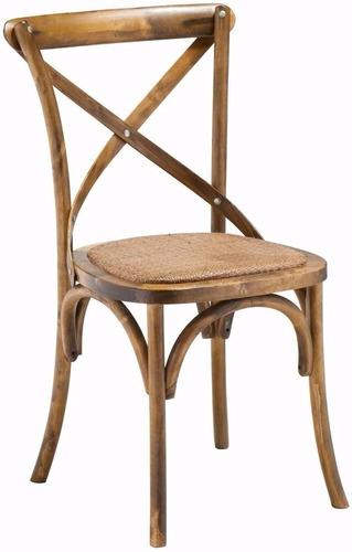 Cadeira Katrina Paris Com Assento Em Rattan 12 Vz Sem Juros