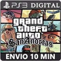 Gta San Andreas Ps3 Psn Jogo Digital Envio Imediato