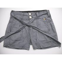 Shorts Feminino Colcci Xadrez Tam 36 ( Veste Até 38) Ótimo