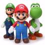 Super Mario Grande Boneco Mario,luigi,yoshi Figure 24cm