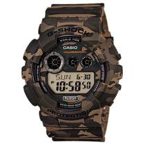 Relógio Casio G-shock Gd 120cm 5dr Gd120 Alarme Wr200m Nf-e