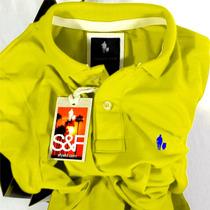 Camisa Polo Masc. S&f Lemon Original Qualid. De Importada
