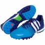 Chuteira Society Tf Adidas Nitrocharge 2.0 Azul Tam 41 Nova