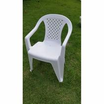 Cadeira De Plástico Poltrona Trindade Para 150kg