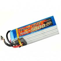Bateria Lipo 6s 22.2v 5000mah 60c Gens Ace T Rex 550 700