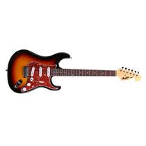 Guitarra Memphis By Tagima Mg-32 Sb Sunburst Com 3 Single Co