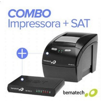 Combo Sat Fiscal Bematech Rb-1000 Mais Impressora Mp-4200 Th