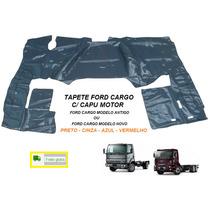 Tapete Verniz Caminhão Ford Cargo Com Capu