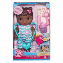 Boneca Baby Alive Bebê Negra Médica Cuida De Mim - Hasbro