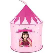 Toca Infantil Castelo Encantado Rosa Com 150 Bolinhas 6203 -