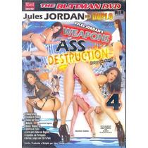 Dvd Duplo Detonação Anal 4 Buttman Jasmine Seminovo Original
