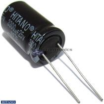 10 Capacitor Eletrolitico 3300uf X 25v Fonte Arduino