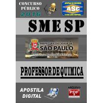 Apostila Concurso Sme Sp Professor De Quimica 2016