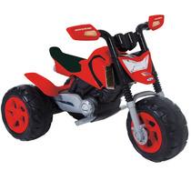 Mini Moto Elétrica Infantil Elite Vermelha - Xalingo