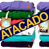 Lote Atacado 20 Camisas Polo Qualidade De Importada Original