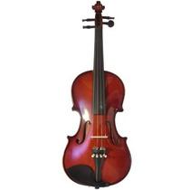Violino Guarneri 4/4 Dv12 Com Case Completo Antique Luxo