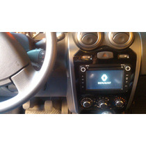 Central Multimídia Renault Duster Sandero Logan Dvd Tv Gps