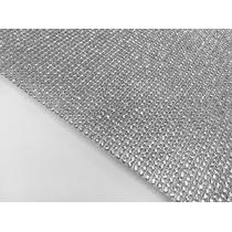 2 Manta De Strass P/customizar Chinelos Prata Dourada 6x22cm