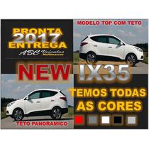 New Ix35 2017 - Zero Km Pronta Entrega - Top Com Teto Solar