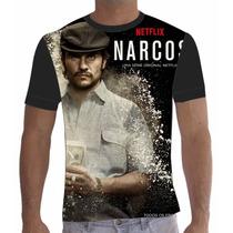 Camisa Camiseta Série Narcos Netflix Gustavo
