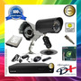 Kit 4 Cameras Infra Sony / Dvr 4 Canais / Hd 500gb Completo