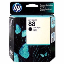 Cartucho Hp 88 Original Preto 24,5ml C9385al