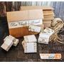 50 Convites De Casamento Rústico Reciclado Envelope Em Kraft