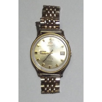 Relógio Antigo - Automatic - Orient Dourado - 2 Janelas