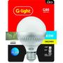 4 Lampadas Led Bulbo E27 Sensor De Presença 6w 7w Garantia