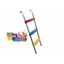 Escada P/ Cama Elástica, Pula Pula Ou Trampolim 3 Degraus