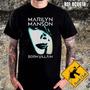 Camiseta De Banda - Marilyn Manson - Born Vilain - Rc0618