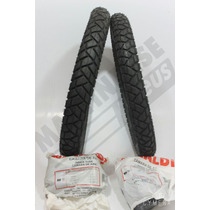 Kit Pneu 250-17 R34 + 80/100-14 R34 Rinaldi Bis Pop