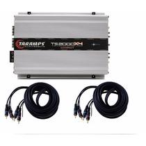Módulo Digital Ts-2000x4 4ch 2000 Wrms 2 Ohms Taramps