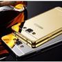 Case Bumper Celular Samsung Galaxy A3 A300 + Tampa Espelhado