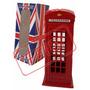 Cofre 15x 6 Cm Metal Cabine Telefônica Londres Miniatura