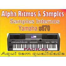 Samples Interno S-670 51 Ritmos + 28 Timbres