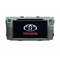Kit Central Multimidia Tv Dvd Gps Toyota Hilux Srv 2012-2015