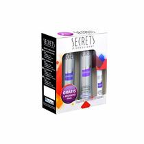 Secrets Kit Shampoo Desamarelador + Condicionador + Fluido