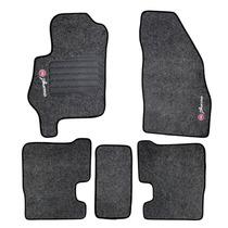 Tapete Carpete Preto P/ Fiat Punto 2012 Com Velcro 5 Peças