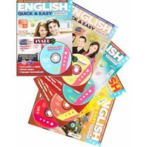 Kit 5 Revistas + Cds Speak English Curso De Inglês Minuano