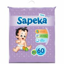 Fralda Sapeka Hiper Eg (60 Fraldas)